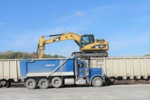 Pavlich-Kansas-Rail-Car-Unloading-Transport-Service